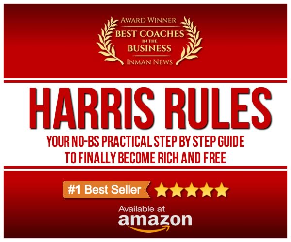 Harris Rules: The Best Selling Real Estate Guide, Now On Amazon